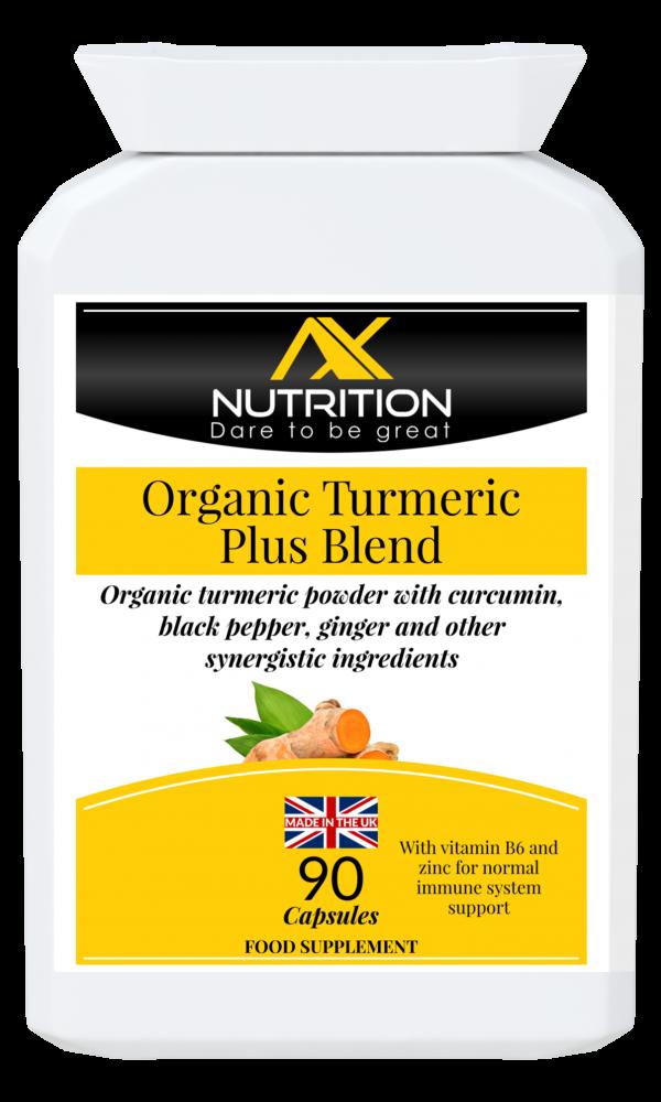 organic turmeric powder with curcumin