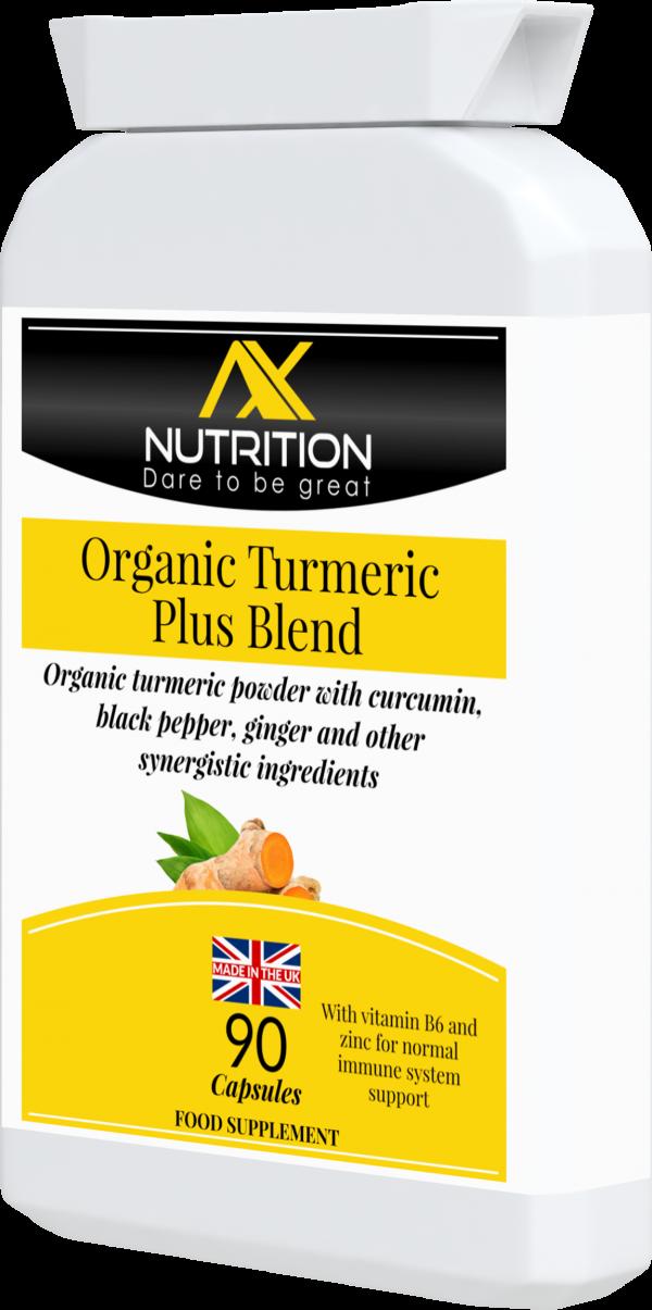 organic turmeric powder with black pepper