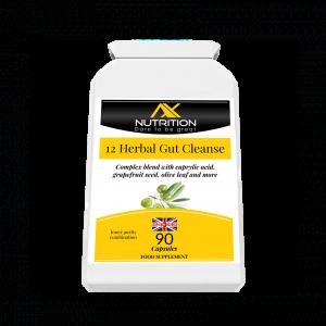 12 herbal gut cleanse